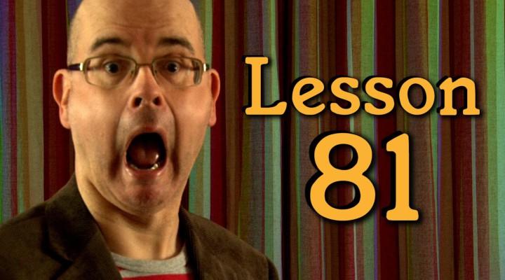 Lesson 107: TALK