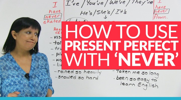 Using PRESENT PERFECT Tense with 'NEVER'