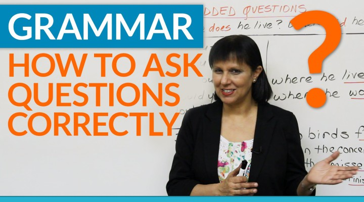 Grammar: How to ask questions correctly in English — Embedded Questions