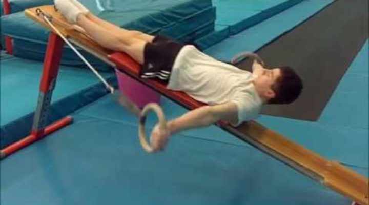 Conditioning Exercise of the Week (4) — Rings Circuit for Junior Gymnasts