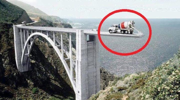 Необычное Строительство Моста