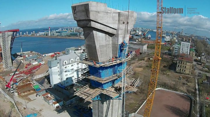 The largest construction projects in Russia 2017. Formwork STALFORM.